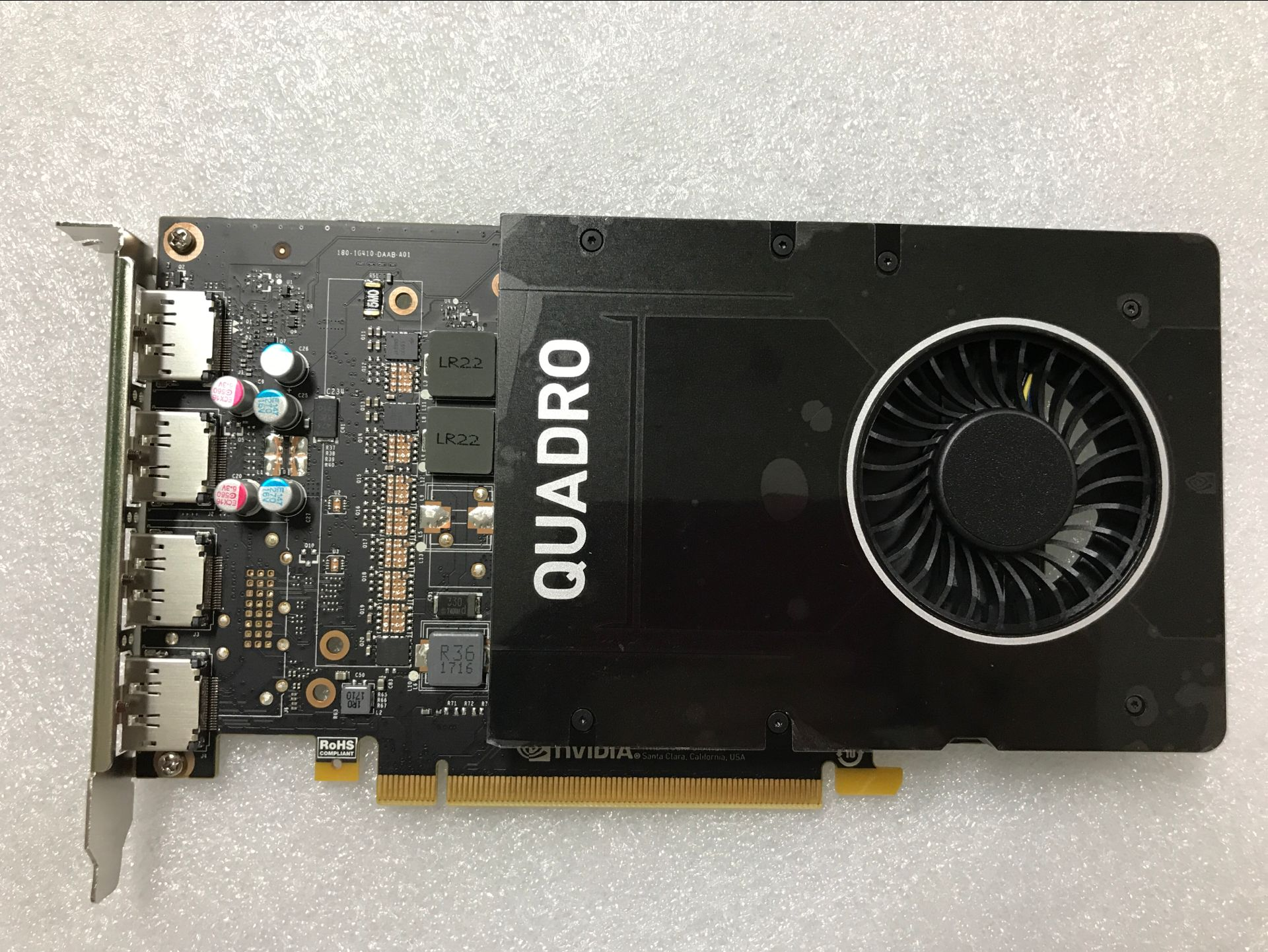 Quadro P2000 5G  Design 3D Modeling Rendering Workstation Professional Graphics Card, Used Original