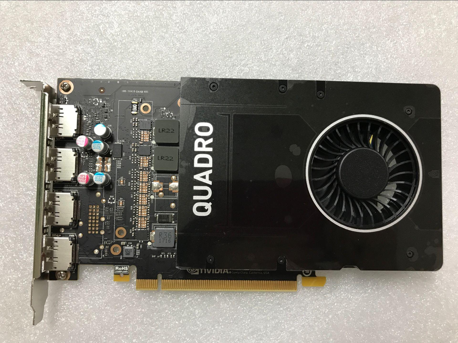 Quadro P2000 5G  Design 3D Modeling Rendering Workstation Professional Graphics Card, Used Original
