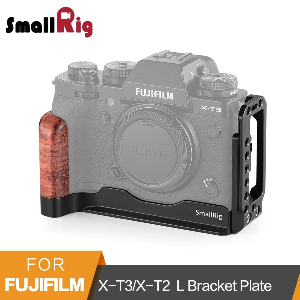 SmallRig X-T3/X-T2 Placa Quick Release L-Suporte para Fujifilm X-T3 e X-T2 Arca-Swiss Padrão L placa Placa De Montagem-2253