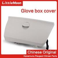 LittleMoon Original New glove box Miscellaneous lid co pilot storage compartment cover for Citroen C4 Triumph C quatre