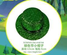 NUOVO Arrvial Della Fascia Del Cappello Giorno di san Patrizio Cappello  Fascia Verde Paillettes Irlandese San Patrizio Novità Ca. 81c9ab7fcbe6