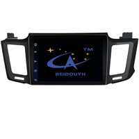 BEIDOUYH Car DVD Player For TOYOTA RAV4 2013 2015 Support Mirror Link With Two Operation APP