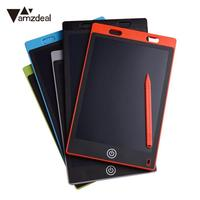 AMZDEAL Portable 12 Inch Digital Tablet LCD Writing Drawing Board Tablet Pad Notepad Electronic Graphics Pad