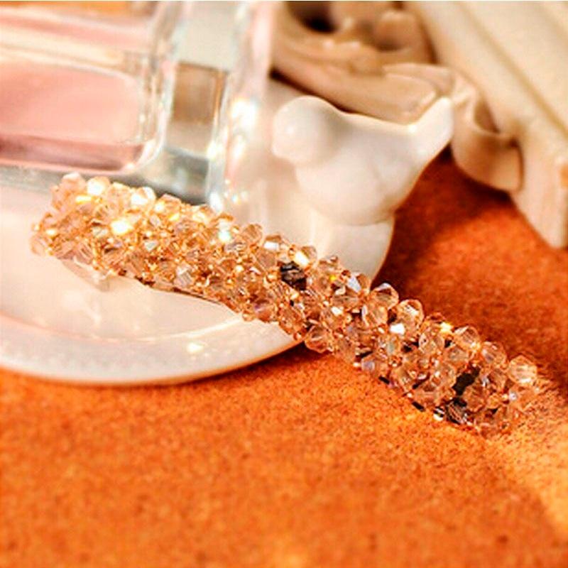 HTB1H7FJJFXXXXXeXVXXq6xXFXXXK Women's Sparkling Rhinestone Crystal Beads Hair Clip Barrette - 6 Colors