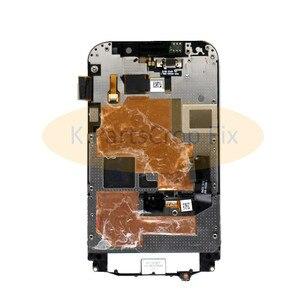 Image 3 - 3.5 لبلاك بيري كلاسيك Q20 شاشة LCD تعمل باللمس محول الأرقام الجمعية لبلاك بيري Q20 LCD مع الإطار مع لوحة المفاتيح