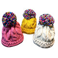 Hot Brand 2016 Cute Baby Cap Toddler Kid Elasticity Slouchy Knitting Beanie Hip Hop Cap Warm Girl Hats