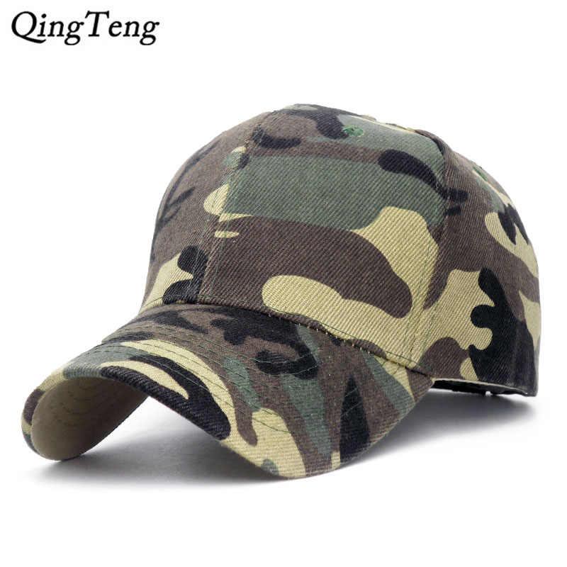 a44e6d24a29d0d Casquette Camouflage Hats For Men Women Cotton Camo Baseball Cap Outdoor  Climbing Hunting Camo Hats Army