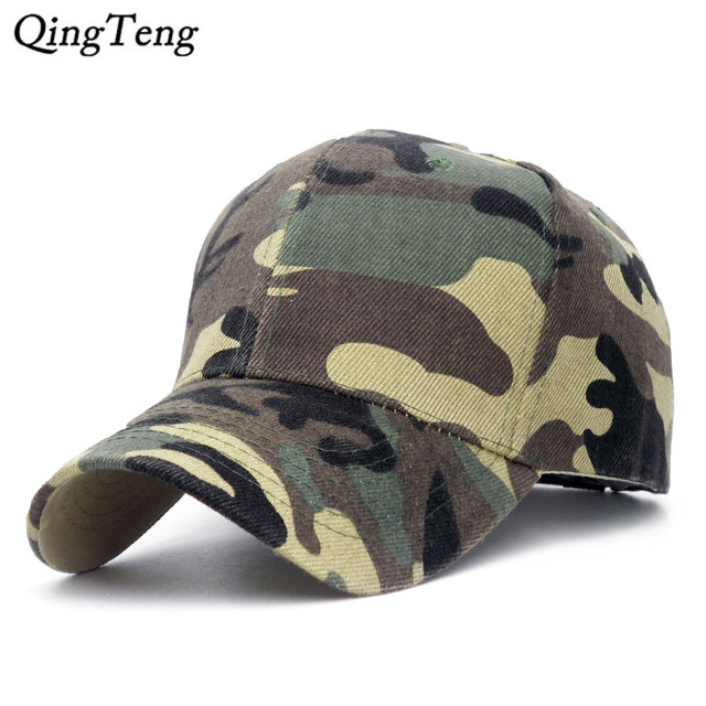 d4edcfc291d Casquette Camouflage Hats For Men Women Cotton Camo Baseball Cap Outdoor  Climbing Hunting Camo Hats Army