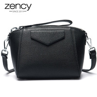 6 Colors New Summer Zency Famous Brand Women Handbag Small Wristle Bag Shell Natrual Leather Shoulder