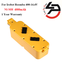 14.4V 4.0Ah High Quality New Battery Pack for iRobot Roomba Robotics 400 Series:400,405,410,415,416,418,4232,4130,4150,4170,4188