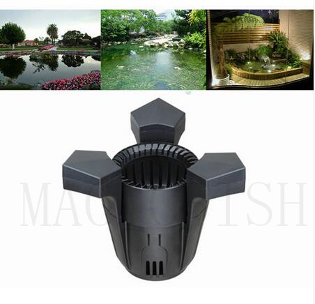 BOYU FISH POND FLOATING SURFACE SKIMMER KOI SKIM FILTER COLLECT INTEGRATED PUMP SCL 2500.Leaf Collector.Fish pond purifier