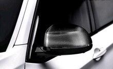 2 unids Espejo Retrovisor Cubierta De Fibra De Carbono Para El BMW X6 F16 2015