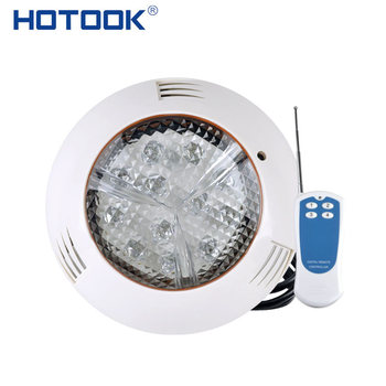 HOTOOK Underwater Light LED Submersible RGB Wall Mounted Swimming Pool IP68 Waterproof Pond Lights Spa Party Piscine
