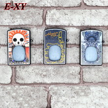E-XY 50PCS Little beard boy Lighter Bottles 30ml Ecigs Needle Bottle Color Childproof Cap Dropper Tip PET e Eliquid Bottle DHL