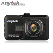 Wholesale prices 2017 anytek car dvr novatek chipset auto car camera 1080P  dash cam dvrs video recorder registrar registrator avtoregistrator