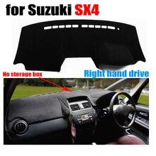 Приборной панели автомобиля чехлы для Suzuki SX4 без коробка для хранения Dashboard правым dashmat Pad Даш крышка авто аксессуары приборной панели