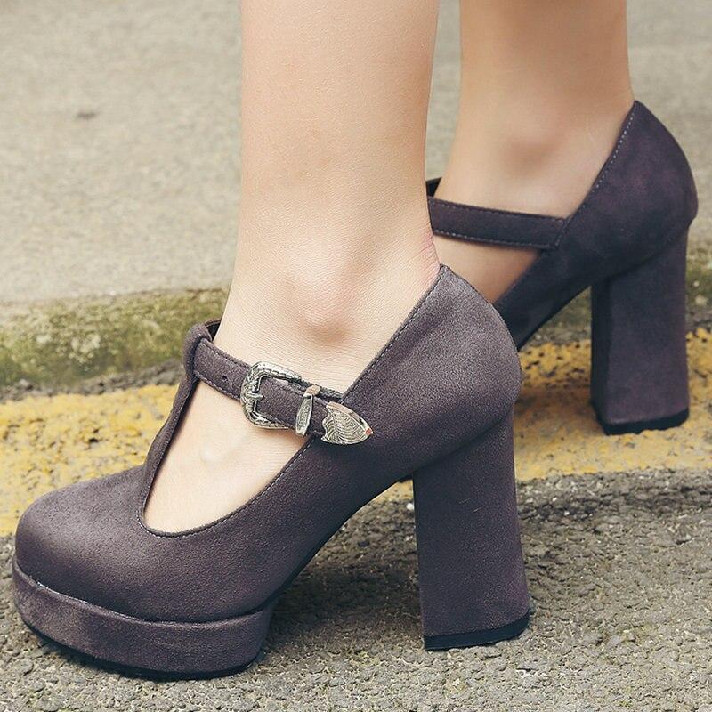Online Get Cheap Ankle Strap Black Heels -Aliexpress.com   Alibaba ...