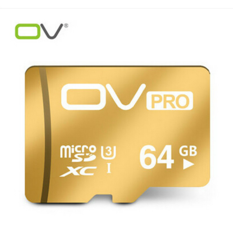 OV Micro SD Card 64GB Class 10 Tarjeta MicroSD 64 GB C10 Cartao de Memoria Carte SD Flash Memory Card Micro SDXC 64G Karta