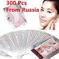 Russia Seller 300 Pairs Eye Pad Patch Lint Eyelash Extension Tape Supply Medical Eye Mask Set