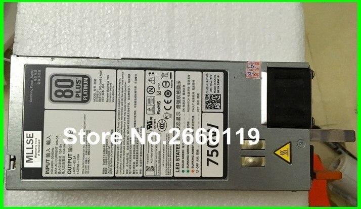 power supply for R620 R720 5NF18 CN-05NF18 05NF18 D750E-S1 E750E-S0 F750E-S0 CWKMX 6W2PW CWKMX 750W, fully tested 100% working power supply for r620 r720 r720xd yt39y 0yt39y 0cc6wf 1100w fully tested