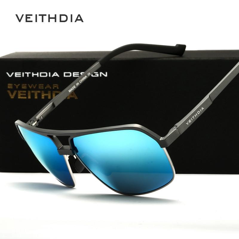 VEITHDIA Бренд дизайнеры UV400 Polarized күн - Киімге арналған аксессуарлар - фото 2