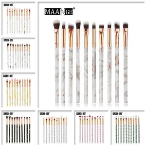 Image 5 - MAANGE Multifunctional 5/7/10pcs Marbling Makeup Brushes Set Eyeshadow Eyeliner Concealer Brush set Mini Make Up Brush Tool Kit