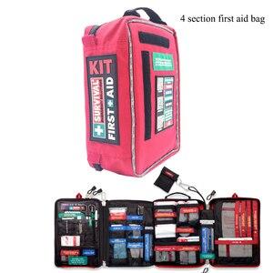 Image 4 - 便利な救急箱防水医療バッグハイキングキャンプサイクリング車の屋外走行サバイバルキット救助治療