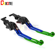 купить Motorcycle Accessories CNC aluminum adjustable Motorcycle brake clutch levers For Honda NC700X NC700 NC 700 X 2012-2013 дешево