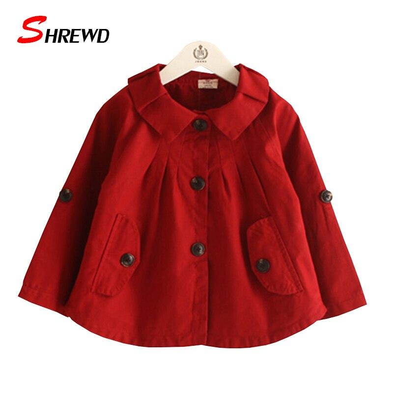 Popular Trench Coat Little Girls-Buy Cheap Trench Coat Little