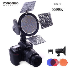 YONGNUO YN216 LED Video Light 216 LED Lamp Lights Photographic Lighting 5500K for Photo Studio DSLR Camera Camcorder