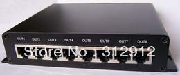 LED pixel verlichting controller, 8 poorten uitgang (op line/off line/wifi/timing/DMX/vijf in een) - 2