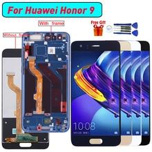 Для huawei Honor 9 Дисплей ЖК-дисплей Tuoch Экран в сборе для huawei Honor 9 STF-L09 STF-AL00 STF-AL10 STF-TL10 Дисплей модуль Экран