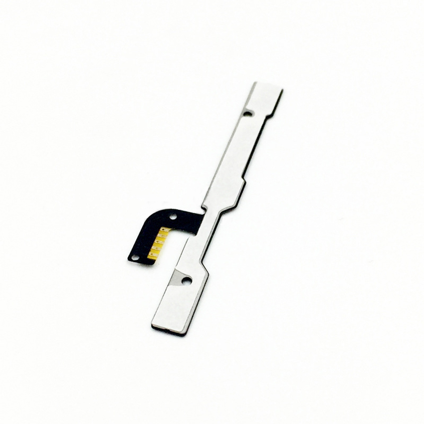 100% Test Power On/Off Switch Key For Lenovo A606 Volume Up/Down Button Flex Cable Replacement Repair Parts