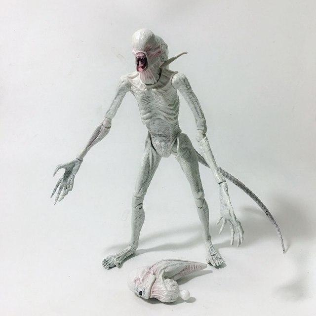 Kit Garagem Original NECA Alienígena: Aliança Action Figure Collectible Modelo Toy Boneca Articulações para presentes