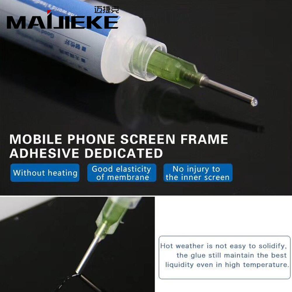 MAIJIEKE Original Brackets Adhesive For IPhone X Middle Frame Back Cover Glue Sticker For All Phone Pad Bracket Bonding
