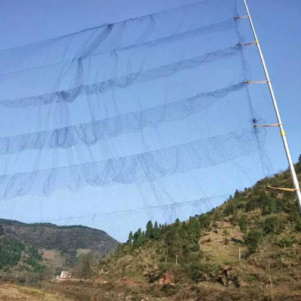 Useful Black Mesh Anti Bird Mist Net Vegetable Farm Orchard Vineyard Protect Nylon Netting Prevent Hunting Catching Garden Tools