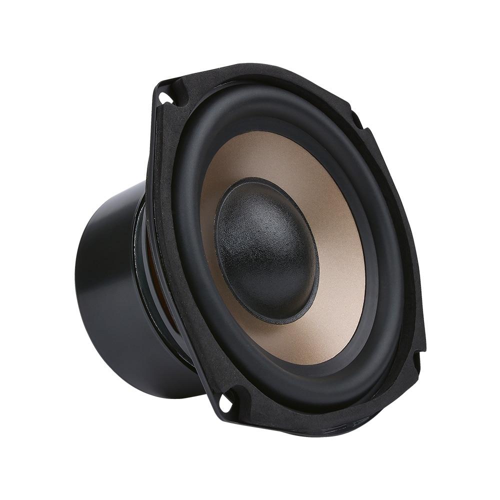 AIYIMA 1 шт. 5,25 дюймов сабвуфер динамик 4 8 Ом 100 Вт Аудио НЧ динамик HIFI бас громкоговоритель для 5,1 домашнего кинотеатра