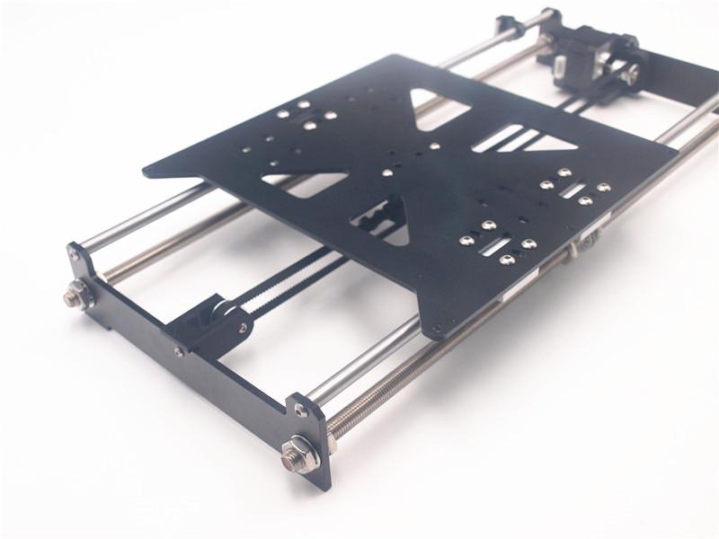 Funssor aluminum Bed Upgrade kit_for Reprap Prusa i3 MK2 3D printer Print Bed Expansion Kit