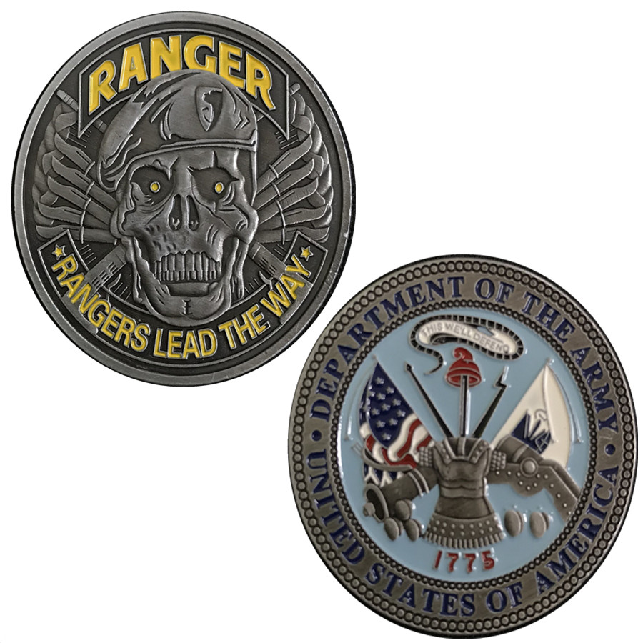 DHL Free shipping,US Army challenge coin 1775 Army Strong United States Patriotism