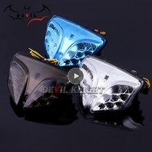 สำหรับSuzuki GSXR GSX R 600 750 2008 2012 K8 K9 LEDด้านหลังหางไฟเลี้ยวสัญญาณไฟรถจักรยานยนต์อุปกรณ์เสริมGSX R 1000
