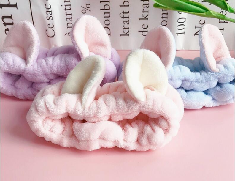 Cat Ears Hair Band Cute Three-dimensional Wash Your Headband Make-up Mask Hair Mask To Sell Germination Decoration Fashion