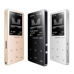 1.8 MP3 16GB MP4 Player USB2.0 OTG FM Radio Touch Button Lossless Radio Recorder With Mic Support TF Card