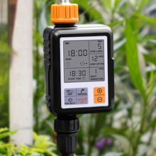 Automatic Electronic Water Timer LCD Screen Sprinkler Controller Outdoor Garden Solenoid Valve Watering Device Irrigation