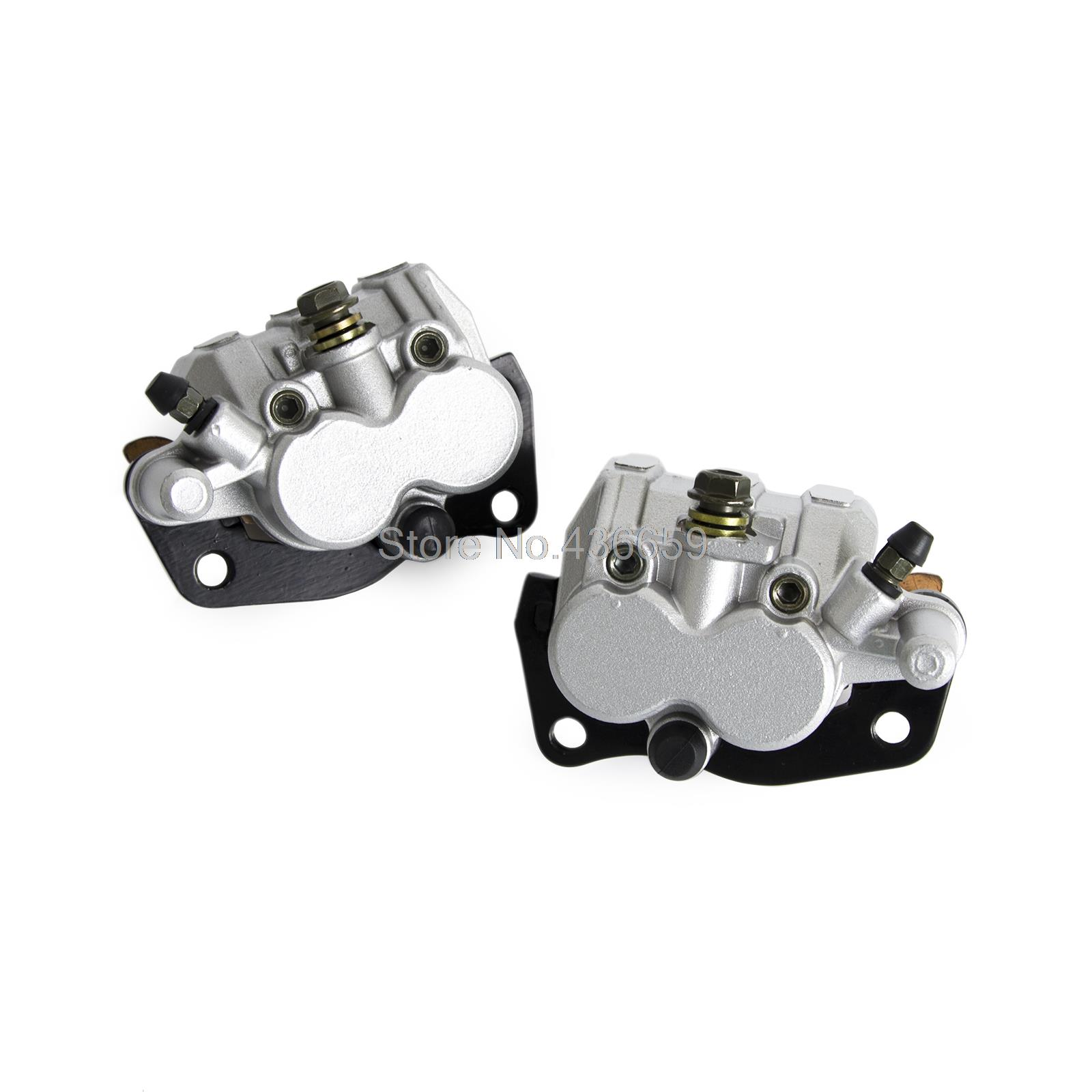 New Front Brake Caliper With Pads Fits For Yamaha UTV RHINO 660 2004 2005 2006 2007 new front brake caliper with pads fits for yamaha utv rhino 660 2004 2005 2006 2007