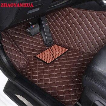 ZHAOYANHUACustom car floor mats Case for Fiat 500 S Freemont bravo Ottimo 5D  heavy duty carpet floor liner