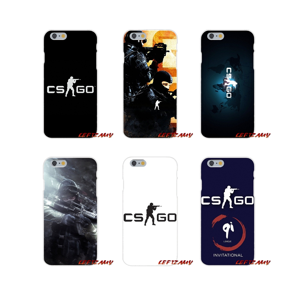 Half-wrapped Case Cs Go Cool Gun Asiimov Pattern Slim Silicone Soft Phone Case For Samsung Galaxy S3 S4 S5 S6 S7 Edge S8 S9 Plus Mini Note 3 4 8 In Many Styles