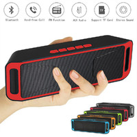 DOITOP SC208 Wireless Round Shape Mega Bass Bluetooth Speaker With Hands Free Mic Support TF Card
