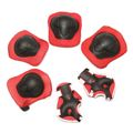 6pcs/set  Roller Skating Protection Knee Elbow Wrist Pad For Men Women Kids Safety Skating Outdoor Sports Gear Guard