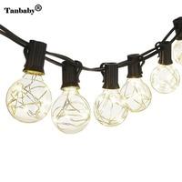 Tanbaby 220V 5 5M G40 Globe Bulb Copper Wire Retro LED String Lights Lamp For New