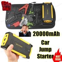 New 68800mAh Peak Car Jump Starter Mini Portable Emergency Car Battery Charger Power Bank Arrancador Bateria
